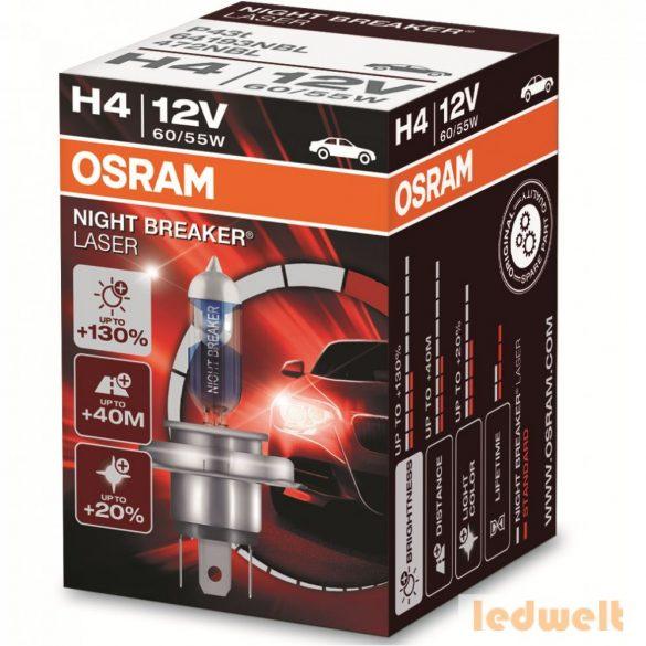 Osram Night Breaker Laser H4 izzó +130% dobozos