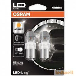 Osram LEDriving Premium 7557YE-02B PY21W 12V Amber 2db/bliszter