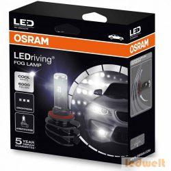 Osram 66220CW LEDriving FOG Lamp H8/H11/H16 2db/csomag