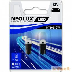 Neolux NT1061CW-02B 6000K W5W LED 2db/bliszter