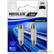 Neolux NF6441CW-02B 6000K 41mm szofita LED 2db/bliszter