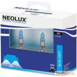 Neolux Blue Light N448B H1 izzó 12V 2db/csomag