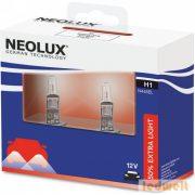 Neolux Extra Light N448EL-SCB H1 izzó 12V +50% 2db/csomag