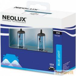 Neolux Blue Light N472B-SCB H4 izzó 12V 2db/csomag