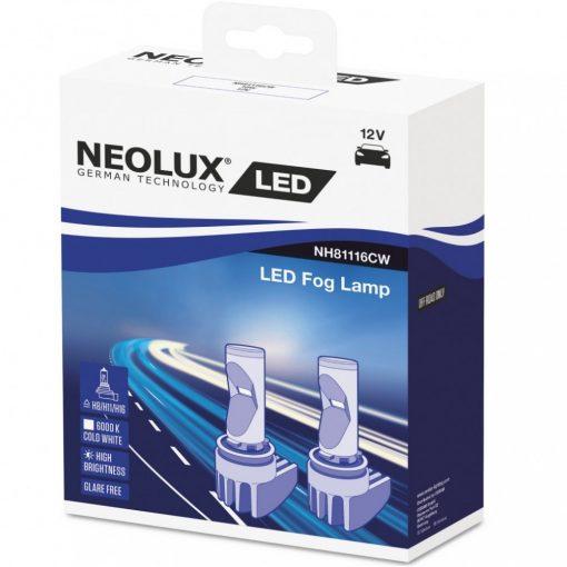 Neolux NH81116CW LED Fog ködlámpa H8/H11/H16 2db/csomag