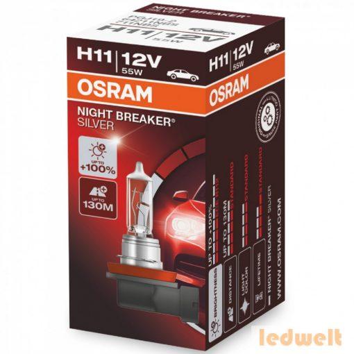 Osram Night Breaker Silver H11 izzó +100% dobozos