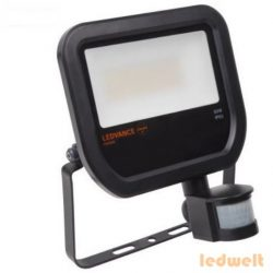 LEDVANCE Floodlight LED Sensor 50W 4750lm 3000K IP65 fekete