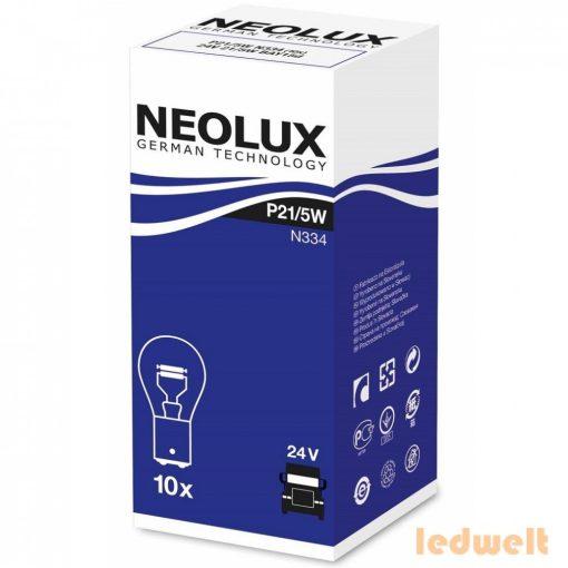 Neolux N334 P21/5W 24V jelzőizzó 10db/csomag
