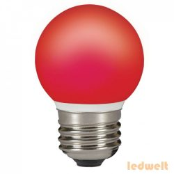 Sylvania ToLEDo Ball IP44 Red 0,5W E27