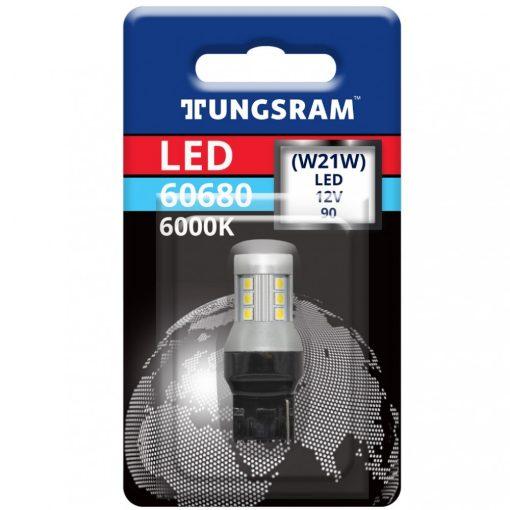 Tungsram 60680 W21W led izzó 6000K W3x16d 93117020