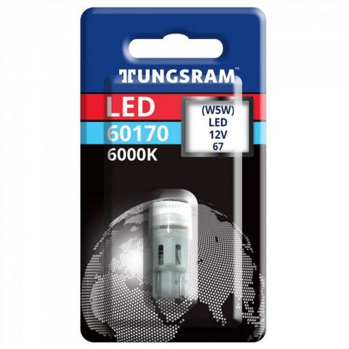 Tungsram LED 0,6W W5W led izzó 6000K 1 darab/csomag