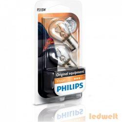 Philips Original Vision +30% 12499B2 P21/5W BAY15d jelzőizzó 2db/bliszter