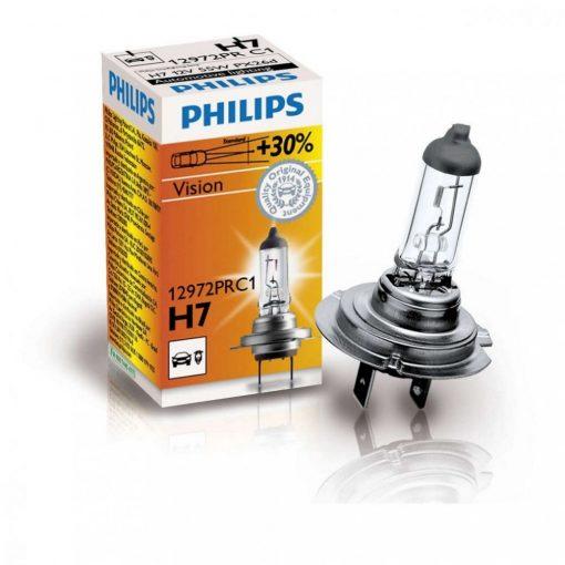 Philips Vision +30% H7 izzó 12972PRC1