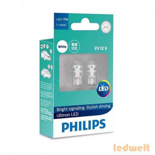 Philips Ultinon LED 360° W5W 4000K 2db/bliszter
