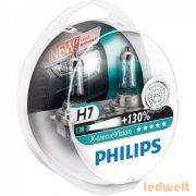 Philips X-tremeVision +130% H7 izzó 55W 12972XV+S2 2db/csomag