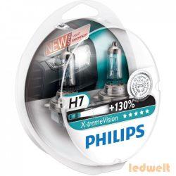 Philips X-tremeVision +130% H7 55W 12972XV+S2 2db/csomag