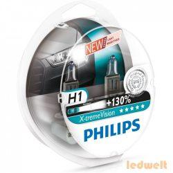 PHILIPS X-tremeVision +130% H1 izzó 55W 12258XVS2 2db/csomag