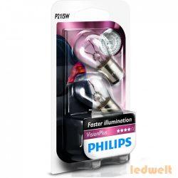 Philips P21/5W VisionPlus +60% 12499VPB2 2db/csomag