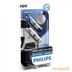 Philips H6W WhiteVision 12036WHVB2 2db/csomag