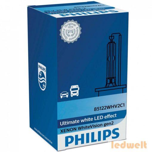Philips D1S WhiteVision +120% 85415WHV2C1 xenon izzó