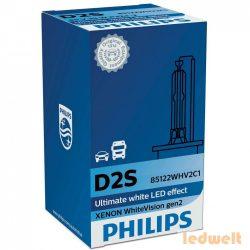 Philips D2S WhiteVision +120% 85122WHV2C1 xenon izzó
