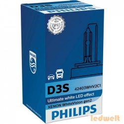 Philips D3S WhiteVision +120% 42403WHV2C1 xenon izzó