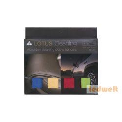 Lotus Professzionális Mikroszálas kendő 40×40cm, 4 szín/doboz