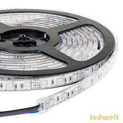RGB LED szalag SMD5050 - 60 LEDs Vízálló