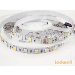 V-TAC -LED szett beltéri: 5 méter RGB+hideg f.+vezérlő+táp