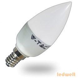 LED lámpa E14 (3Watt/200°) Gyertya - természetes fehér