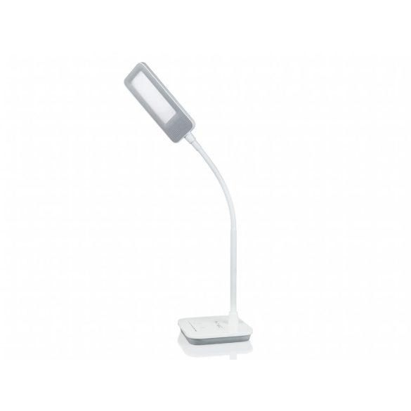V-TAC Ledes asztali lámpa 7 Watt - fényerőszabályozható - szürke, pink színekben